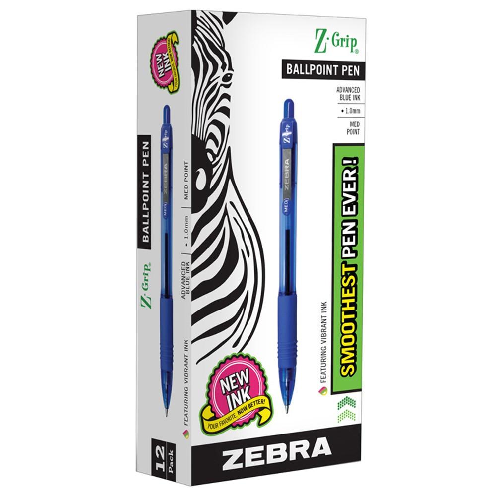 ZEB22220 - Z Grip Ballpoint Pen Blue in Pens