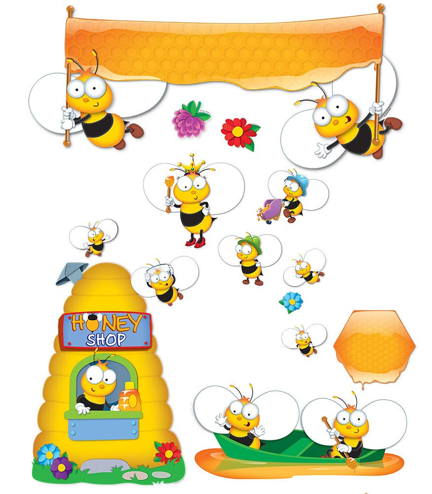 BuzzWorthy Bees Bulletin Board Set