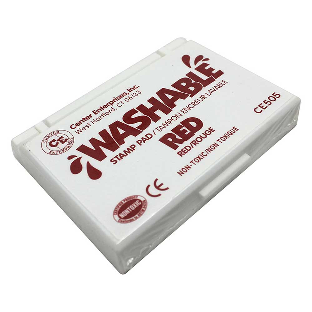 CE-505 - Stamp Pad Washable Red in Stamps & Stamp Pads