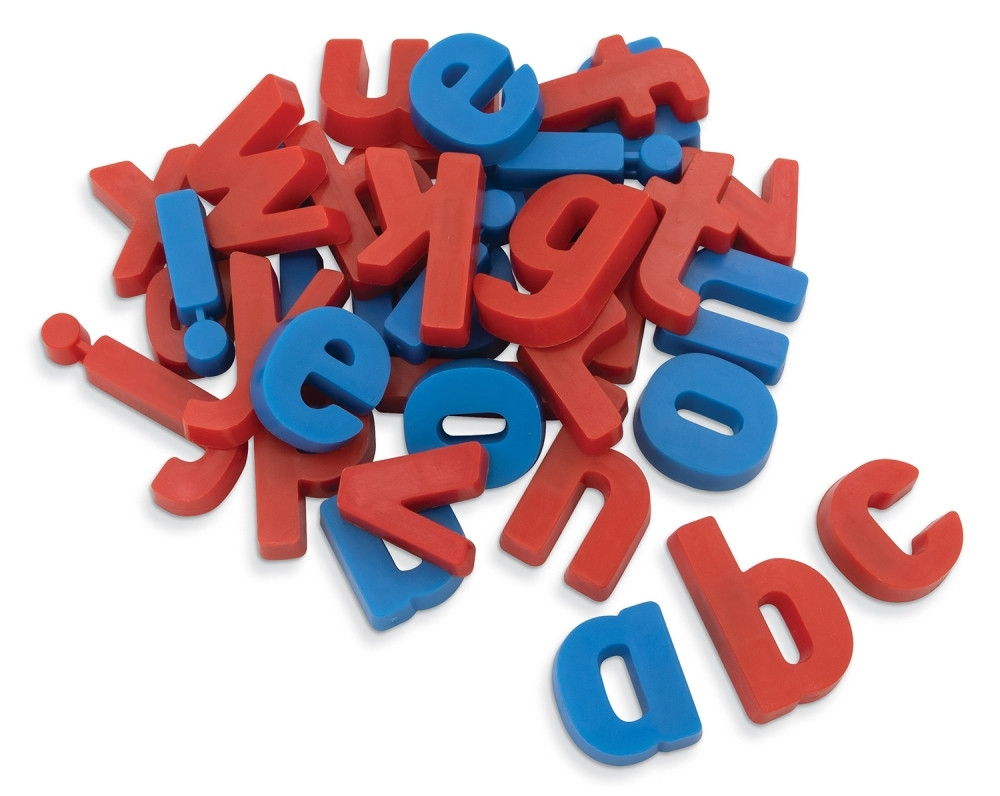 PAC27510 - Magnetic Plastic Letters 36-Set Lowercase in Magnetic Letters