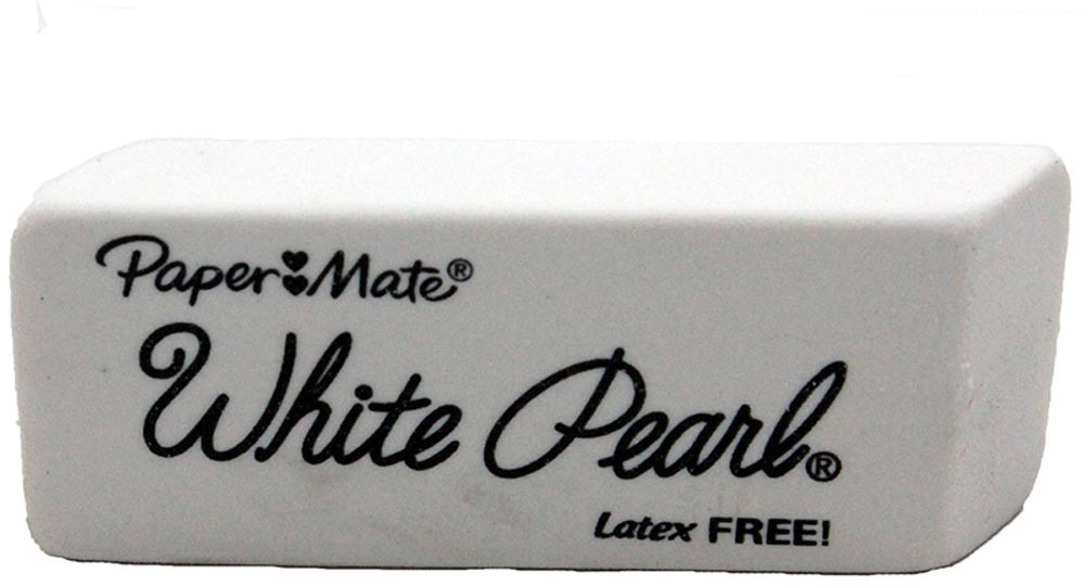 Papermate Pearl Erasers White Sanford L.P