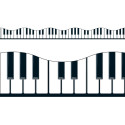 T-92348 - Musical Keyboard Trimmer in Border/trimmer