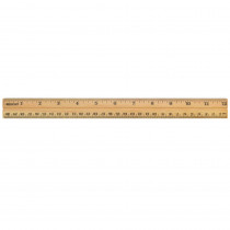 ACM10377 - School Ruler Wood 12 In Single in Rulers