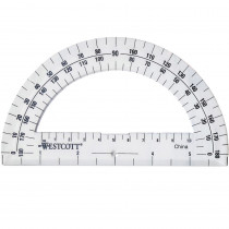 ACM11200 - Protractor 6In 180 Degree Clear in Drawing Instruments