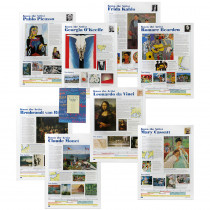 AEPCP6110 - Know The Artist Poster Set in Miscellaneous