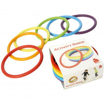 AEPG2190 - Activity Rings Set Of 6 in Bean Bags & Tossing Activities