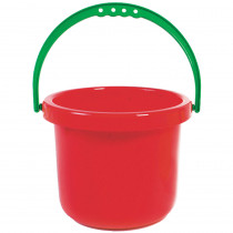 AEPYTSI417 - Large Red Bucket in Sand & Water