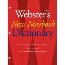 AH-9780547470931 - Websters New Notebook Dictionary in Reference Materials