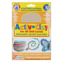 API160 - Activ-Clay White 1 Lb. in Clay & Clay Tools