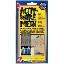 API167 - Activwire Mesh 12X24 Sheet in Clay & Clay Tools