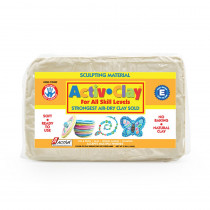 API182 - Activ Clay White 3.3 Lbs in Clay & Clay Tools