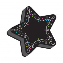 Magnetic Whiteboard Eraser, Star Chalk - ASH09989 | Ashley Productions | Erasers