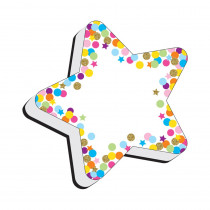 Magnetic Whiteboard Eraser, Star Confetti - ASH09990 | Ashley Productions | Erasers