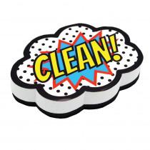 ASH10053 - Superhero Clean Magnetic Whiteboard Eraser in General