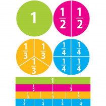 ASH10062 - Math Die Cut Magnets Beginning Fractions in Fractions & Decimals