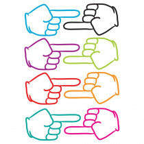 ASH10091 - Die Cut Magnets Pointing Fingers in Whiteboard Accessories