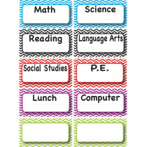 ASH10093 - Magnetic Time Organizers Class Subjects in Whiteboard Accessories