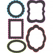 ASH10121 - Dots Magnetic Frames 5 Write On Wipe Off Pcs in Whiteboard Accessories
