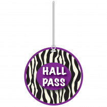ASH10393 - Zebra Hall Pass in Hall Passes