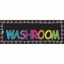 ASH10625 - Laminated Hall Pass Chalk Washroom in Hall Passes