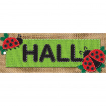 ASH10649 - Laminated Hall Pass Burlap Hall in Hall Passes