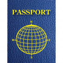 ASH10708 - Blank Passports Pack Of 12 in Writing Skills