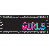 ASH10722 - Laminated Hall Pass Chalk Girls in Hall Passes