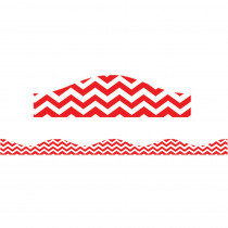 ASH11119 - Big Magnetic Border Red Chevron in Border/trimmer