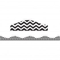 ASH11121 - Big Magnetic Border Black Chevron in Border/trimmer