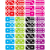 ASH11302 - Math Die Cut Magnets Dominoes in Dominoes