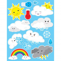Die-Cut Magnets, Cute Weather - ASH19010 | Ashley Productions | Weather