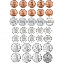 ASH40010 - Money Foam Manipulatives Us Coins in Money