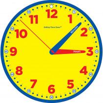 "Time Zone 12 Instruction Clock - ASH50200 | Ashley Productions | Clocks"""