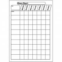 ASH70003 - Big Magnetic Plain Chore Chart 12X15 in Classroom Theme
