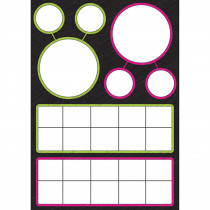 ASH77015 - Magnetic Charts Number Bonds Tens in Magnetic Boards