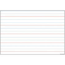 ASH91803 - 10 Pk Smart Poly Handwriting Charts Dry-Erase Surface in Classroom Theme
