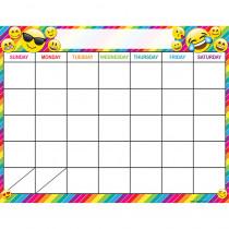 ASH92003 - Calendar Emoji 17X22 Chart Smart Poly in Calendars