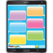 ASH92009 - Cell Phone Emoji 17X22 Smart Chart Poly Chart in Miscellaneous