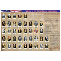 Smart Poly Double-Sided Learning Mat, Constitution/Bill of Rights - ASH95036 | Ashley Productions | Government