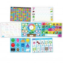 ASH95801 - 7 Pk Early Education Learning Mats Smart Poly in Mats