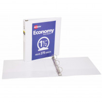 AVE5726 - 1 1/2In Capacity White View Binder in Folders