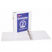 AVE5731 - 2In Capacity White View Binder in Folders