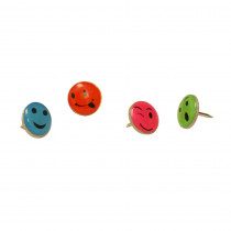 BAUM29830 - Fancy Push Pins Smiley Face in Push Pins