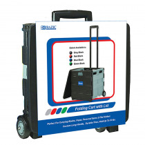 BAZ2196 - Bazic Rolling Cart Black in Storage