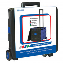 BAZ2197 - Bazic Rolling Cart Blue in Storage