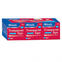 BAZ907 - Bazic Tape Refill Transparent Tape in Tape & Tape Dispensers