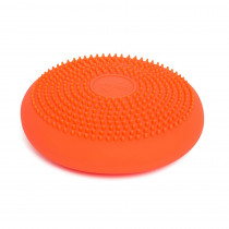 Little Wiggle Seat Sensory Cushion, Orange - BBAWS27OR | Bouncy Bands | Floor Cushions