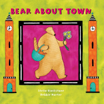 BBK9781841483733 - Bear About Town Board Book in Classroom Favorites