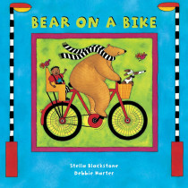 BBK9781841483757 - Bear On A Bike Board Book in Classroom Favorites