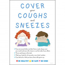 Cover Coughs & Sneezes Poster - BCP1872 | Barker Creek | Classroom Theme